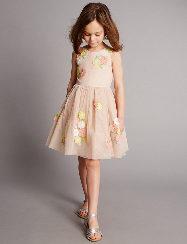 pink-floral-flower-girl-dress-from-marks-and-spencer