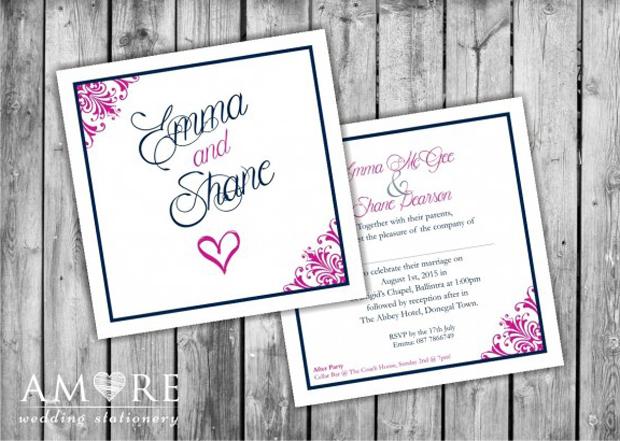 script-wedding-invitation-amore-donna-gormley