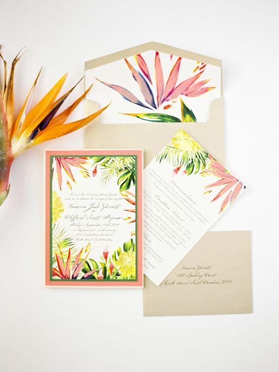 The Most Fun Tropical Wedding Theme You Ve Ever Seen Weddingsonline