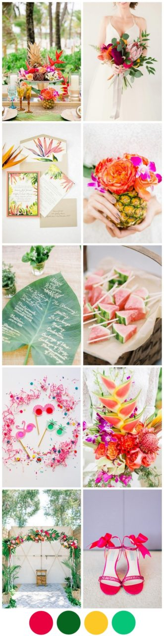 tropical-wedding-theme-ideas-colourful-summer-trends-2016-2017