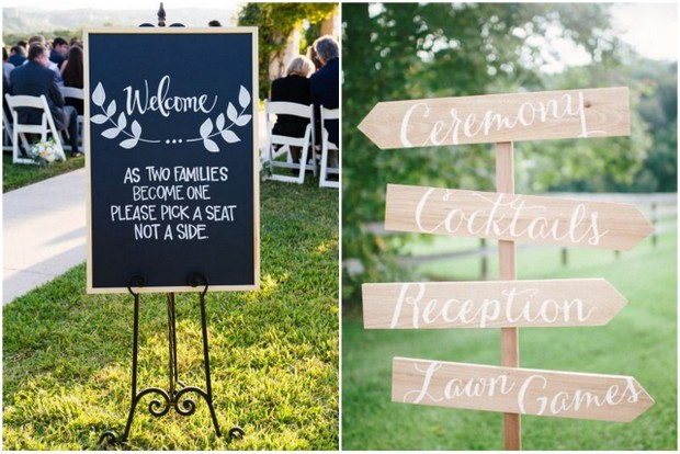 Wedding Signs Ideas Weddingsonline
