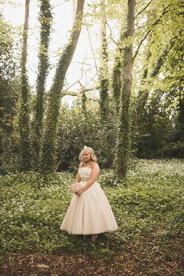 bride-tea-length-ballgown-wedding-dress-justin-alexander-thomasz-kornas-photography-2