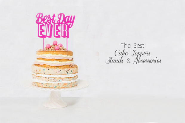 Cake Toppers And Accessories : The Best Cake Toppers, Stands & Accessories for Your ...