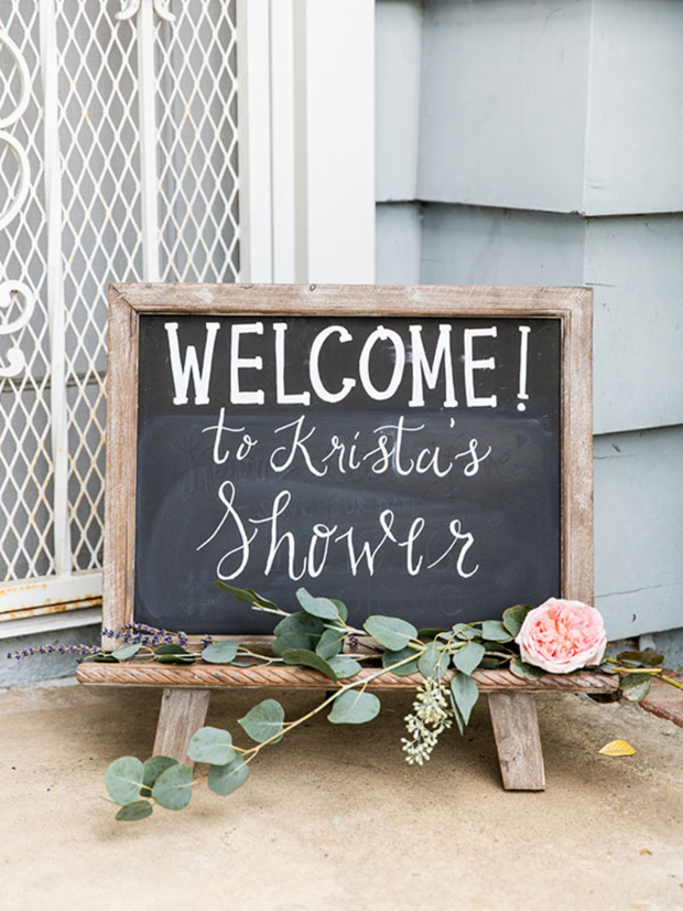 Hen Party Welcome Sign