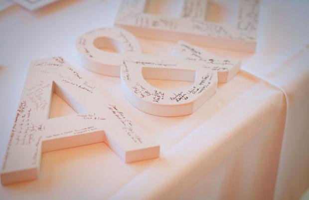 Поздравления по буквам на свадьбу