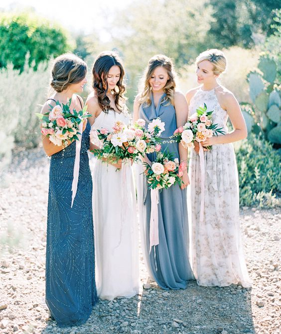 10 Ways To Nail The Mix And Match Bridesmaid Look