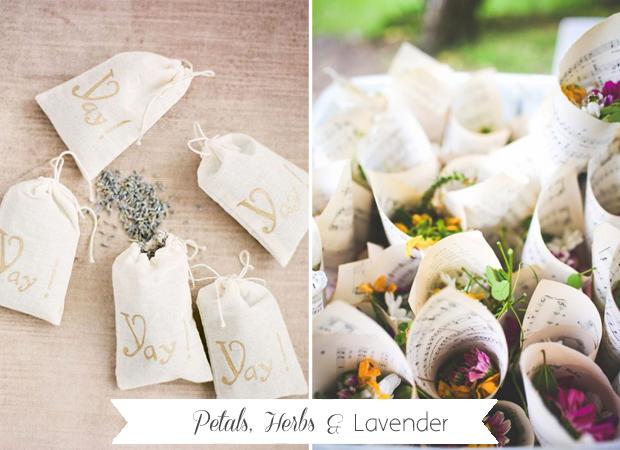 petals-herbs-lavender-ceremony-exit