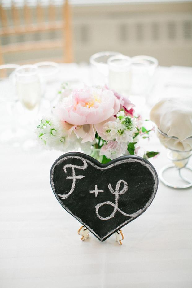 table-decor-wedding-initials