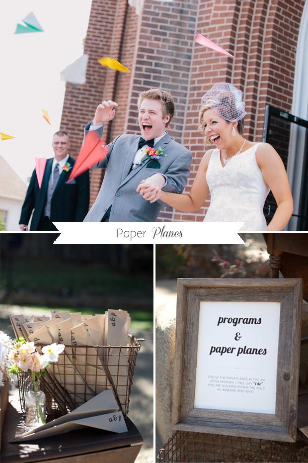 wedding-ceremony-exit-paper-planes