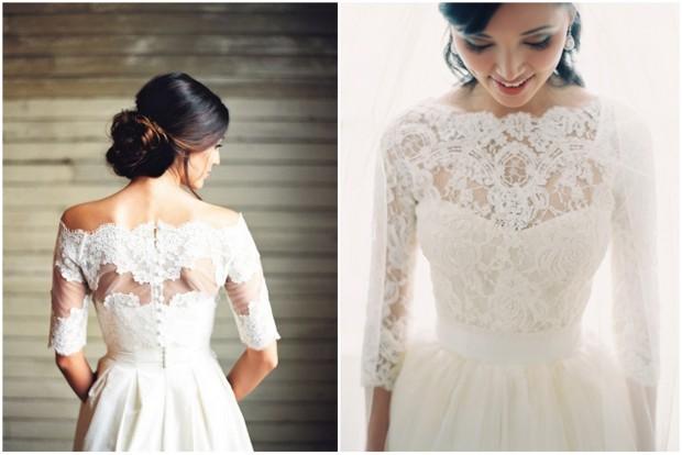 20+ Beautiful Bridal Boleros, Tops, Jackets & Capelets you\'ll Want ...