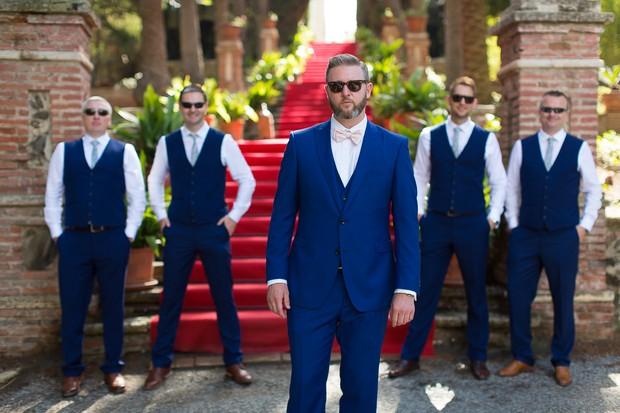 4-petrol-blue-groom-wedding-suit-bowtie