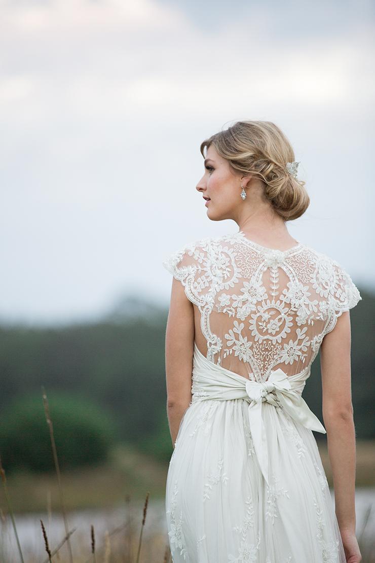 Anna Campbell Beautiful Wedding Dress Back Lique Fl