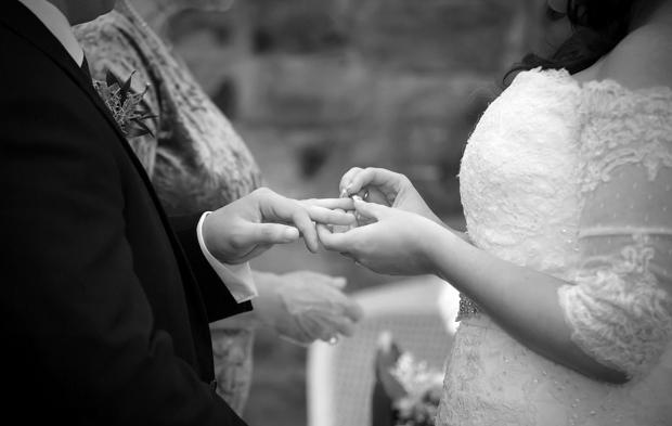 Black-White-Wedding-Ceremony-Photos-Ballymagarvey-Village-weddingsonline (1)