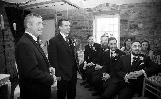 Black-White-Wedding-Ceremony-Photos-Ballymagarvey-Village-weddingsonline (2)
