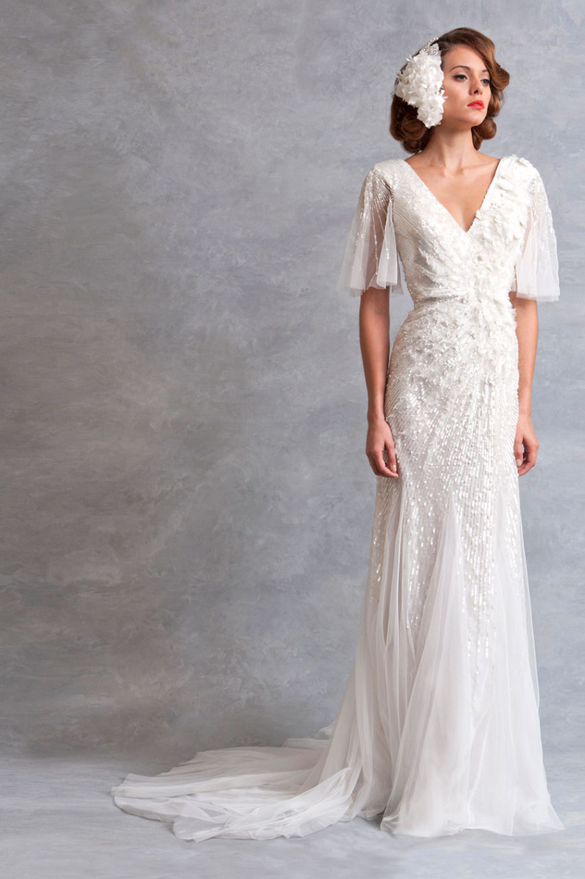 Unique Vintage-Inspired Wedding Dresses