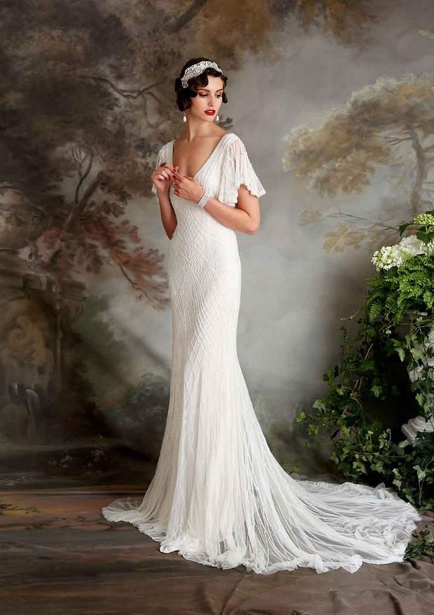 Vintage Looking Wedding Dresses Photo Album - Wedding ring ideas ...