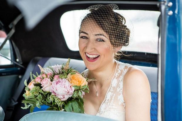 anglers-rest-real-wedding-julie-photo-art-bride-in-car