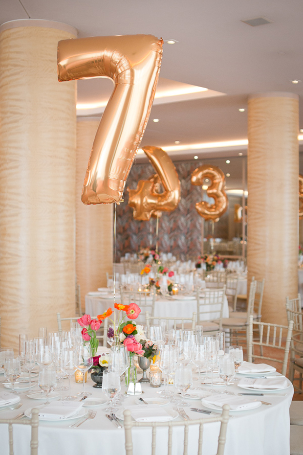 17 creative ways to display your wedding table numbers for Creative ways to make a table