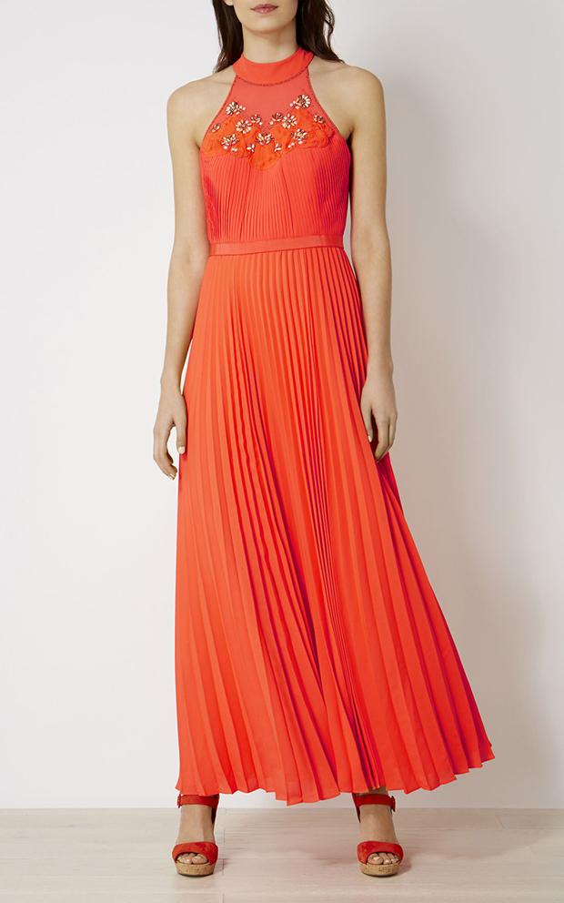 coral-jewel-maxi-dress-wedding-guest-fashion