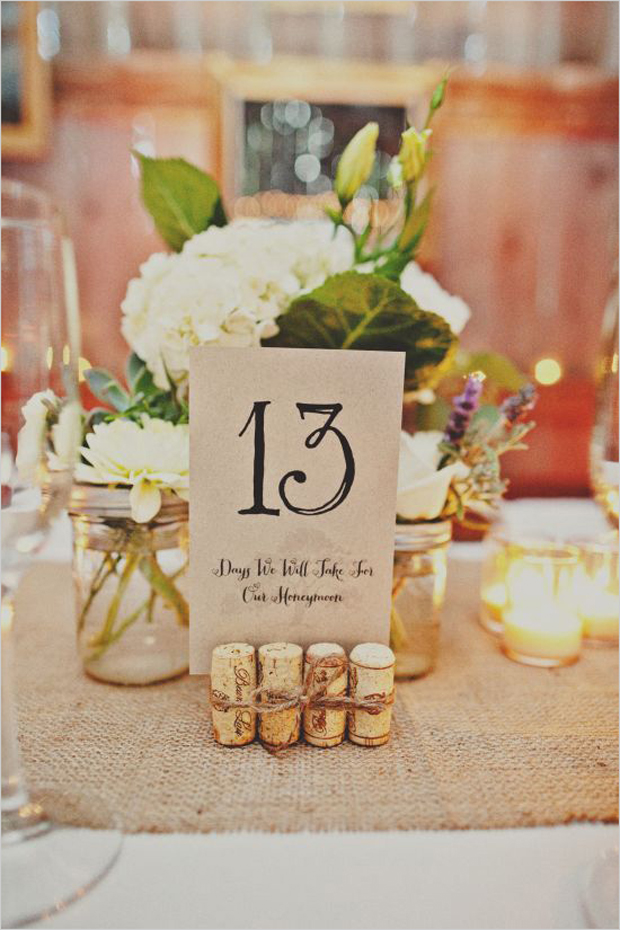 Table Numbers Wedding.17 Creative Ways To Display Your Wedding Table Numbers