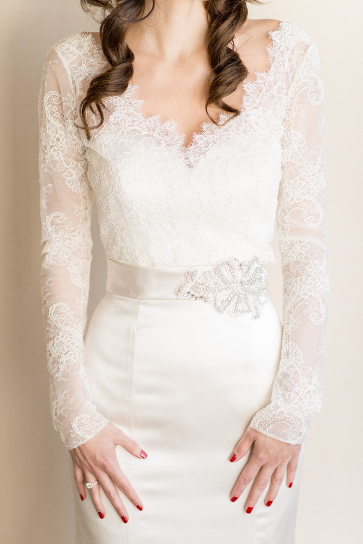 20 Beautiful Bridal Boleros Tops Jackets Amp Capelets Youll Want To Cover Up With