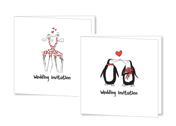 illustrated-kissing-penguin-wedding-invitation