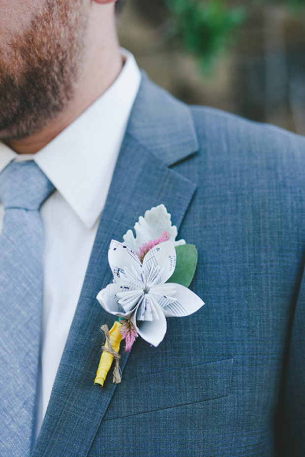 24 brilliantly fun boutonnieres for the boys