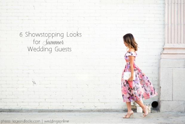 6 Showstopping Summer Wedding Guest Dress Styles | weddingsonline