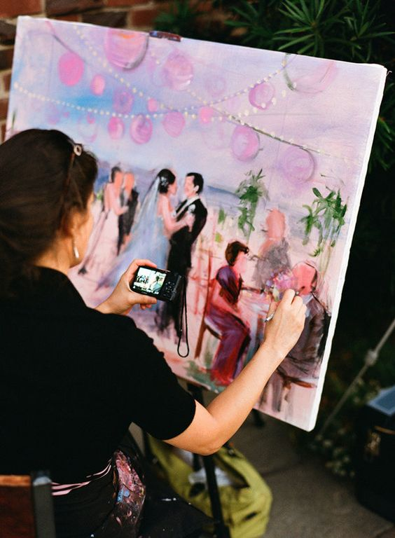 wedding-painting-artist-scene