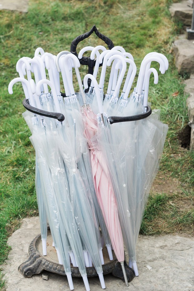 22-Clear-Umbrellas-Wedding-Ideas-Ballymagarvey-Village-Wedding-weddingsonline