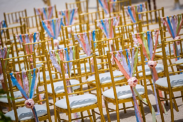 9-colourful-wedding-decor-outdoors-ribbon-chair-backs-weddingsonline