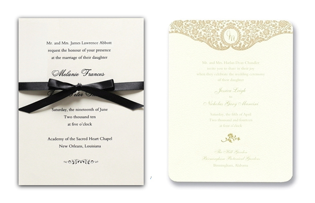 21 seriously chic classic wedding invitations | weddingsonline,