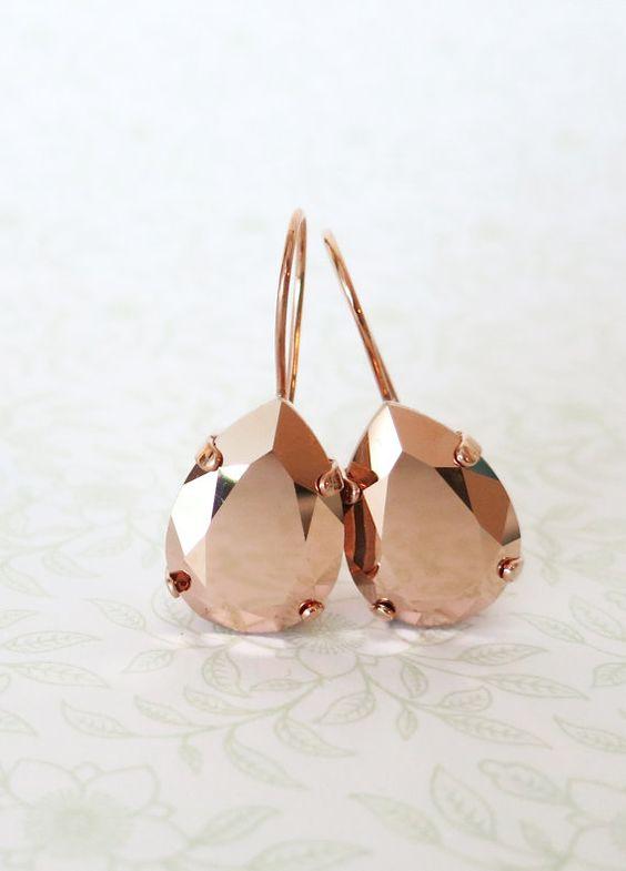 copper-rose-gold-earrings-wedding-fashion-weddingsonline