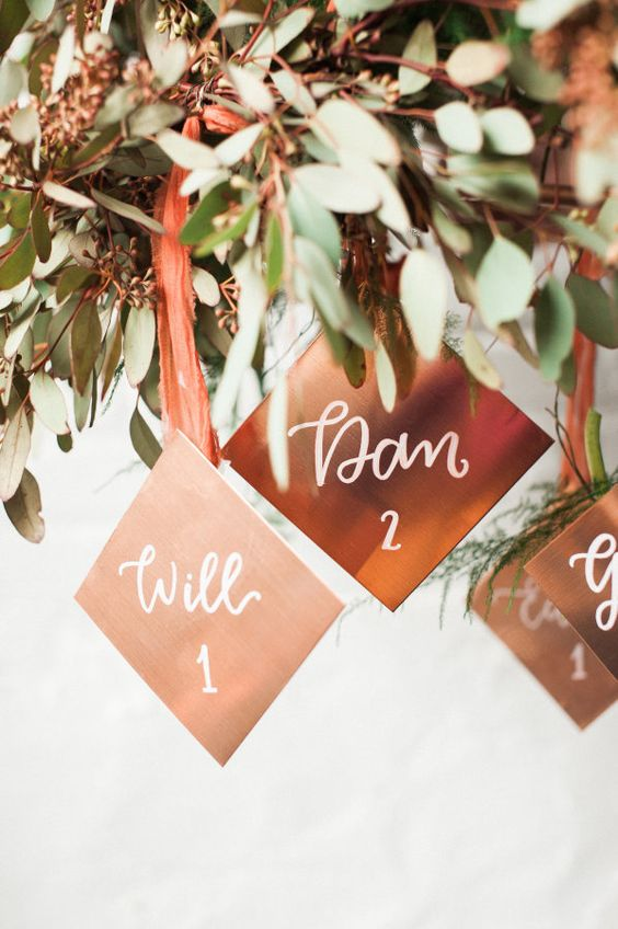copper-wedding-inspiration-escort-cards-weddingsonline