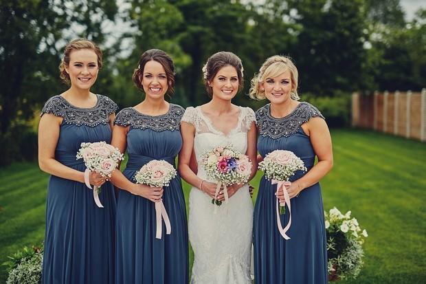 17-Bridesmaids-Navy-Embellished-Long-Dresses