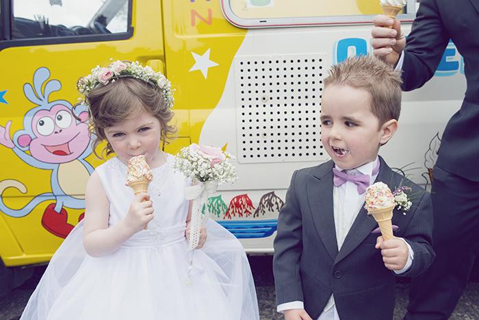 20-Real-Wedding-Ice-Cream-Van-Outside-Church-Ireland-Mayo-weddingsonline (2)