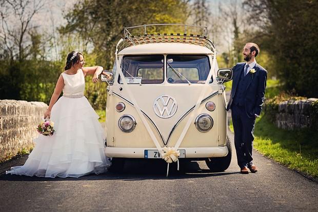 35-Real-Wedding-VW-campervan-Ireland-transport-weddingsonline-6