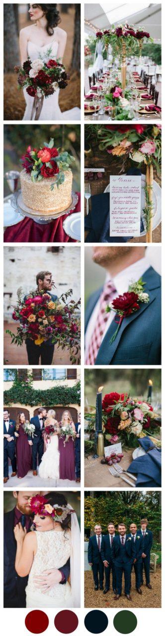 Autumn-Marsala-Navy-Wedding-Colour-Palette-Trends-2017-weddingsonline