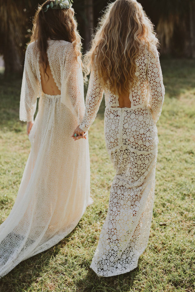 Introducing the Beautiful Boho Immaclé Barcelona Bridal Collection ...