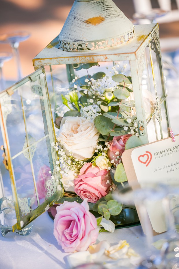 Rustic-Romantic-Wedding-Decor-Lantern-Centerpiece-Irish-Heart-Foundation-Wedding-weddingsonline