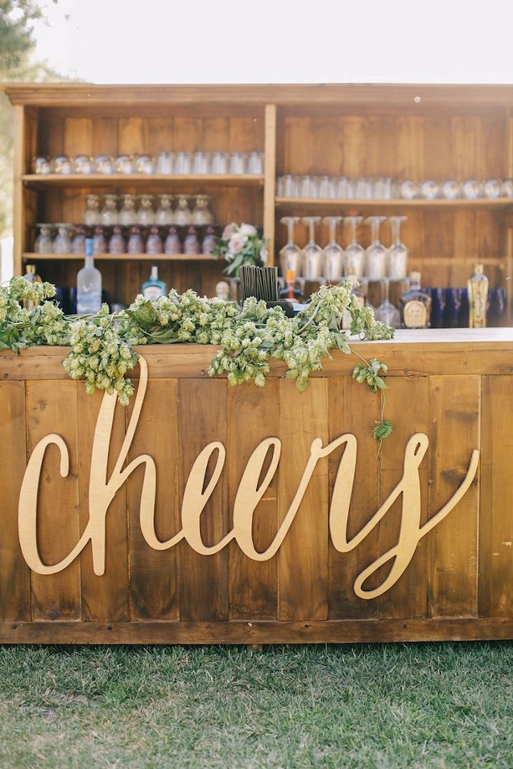 cheers-sign-wedding-drinks-reception