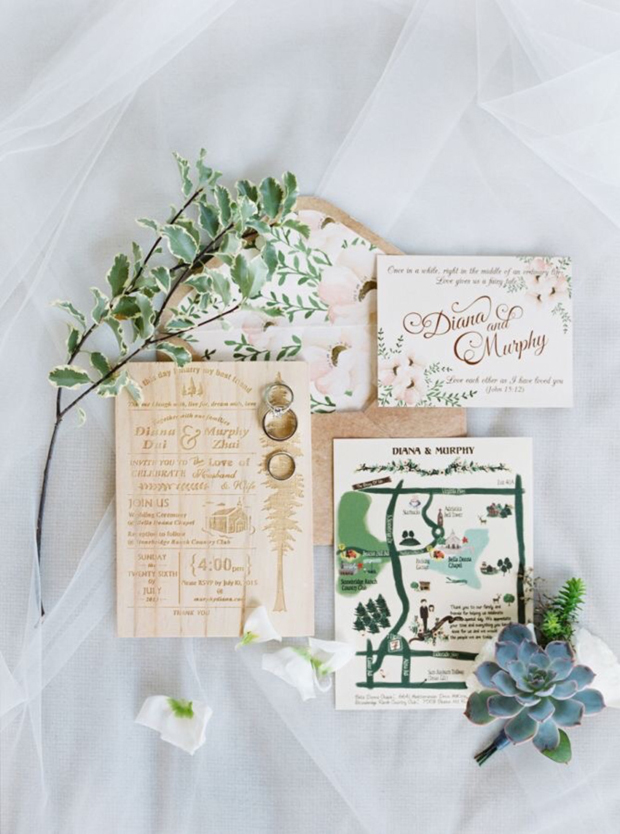 cute-watercolour-wedding-map