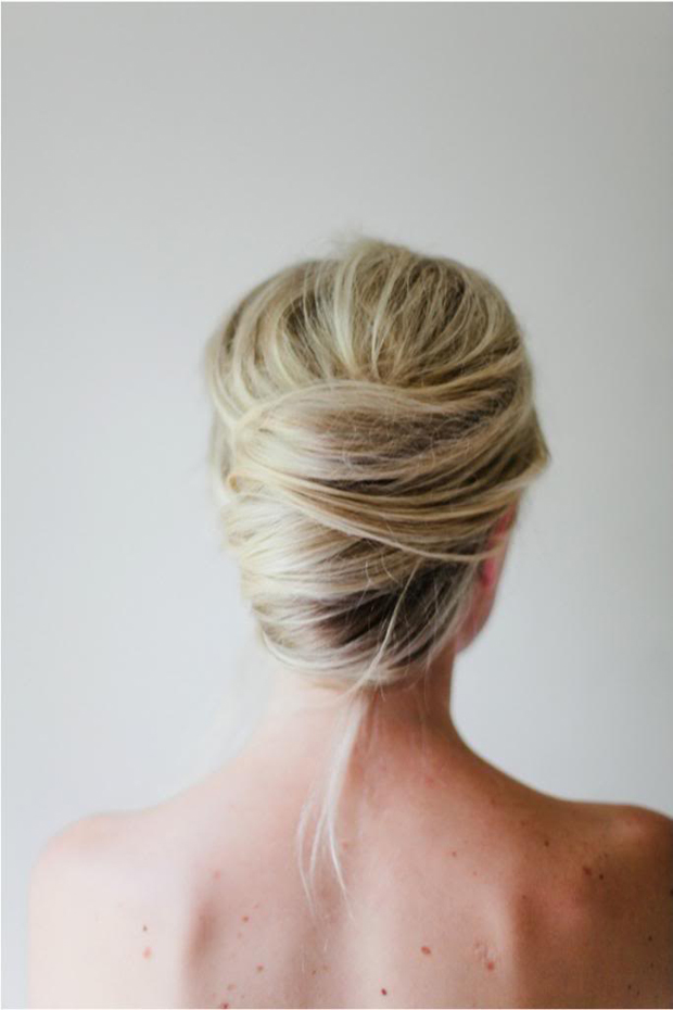 day-after-hair-ideas-wedding-messy-french-twist