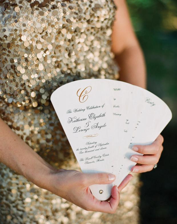 elegant-wedding-ceremony-fan-with-monogram