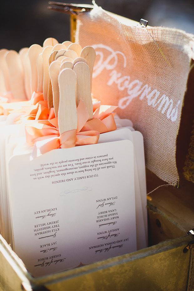 fan-wedding-ceremony-programme