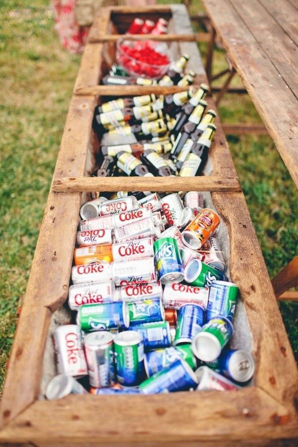 flower-box-drinks-reception-ideas-beer-display-weddingsonline