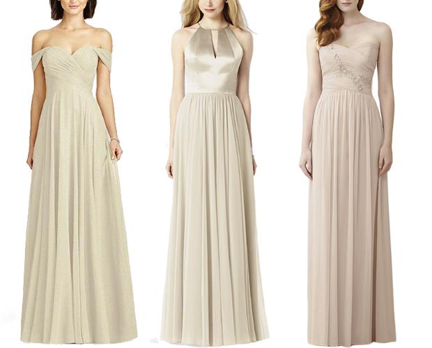 gold-dessy-bridesmaid-dresses