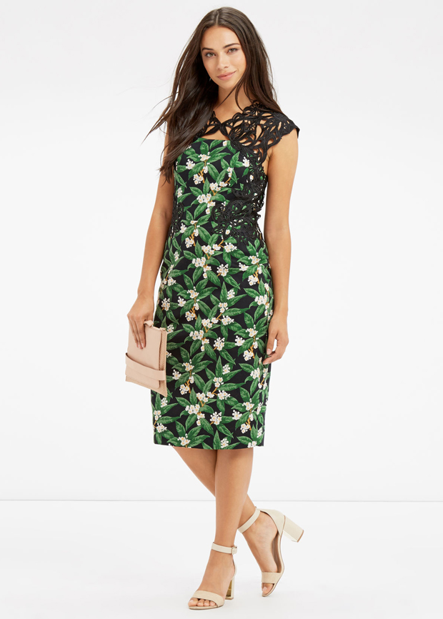 lisa-cannon's-favourite-day-after-dresses-oasis-floral-green-dress