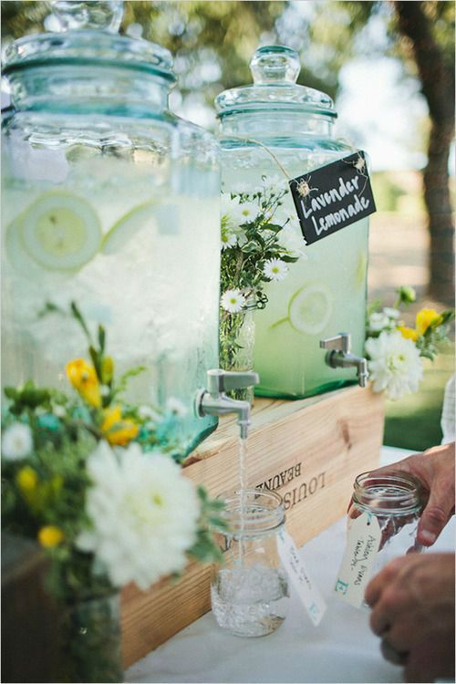 self-serve-cocktails-wedding-lemonade-weddingsonline
