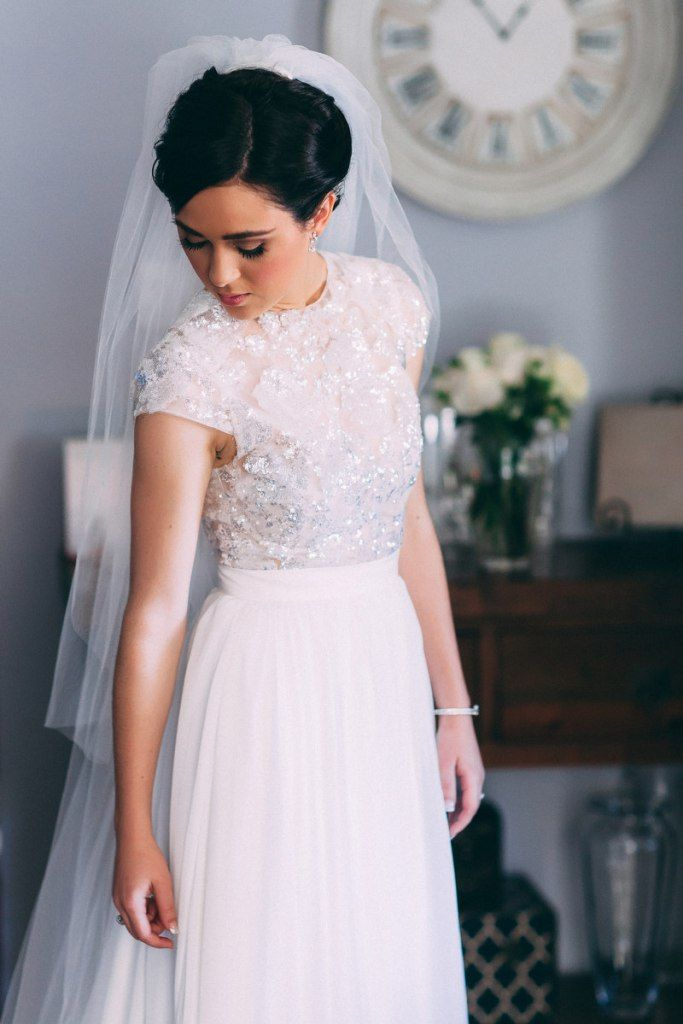sequin-crop-top-tulle-wedding-skirt-separates